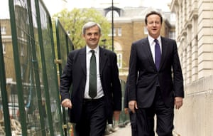 Year in Climate: David Cameron and  Energy and Climate Change Secretary , Chris Huhne