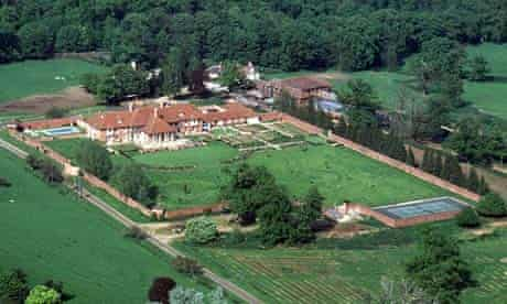 Prince Andrew's Sunninghill Park mansion