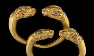 Afghan gold bracelets