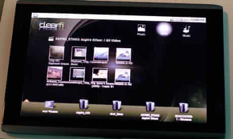 The Acer 10.10 Android touch screen tablet