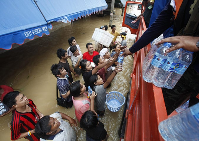 Floods in the south of Thailand | World news | The Guardian