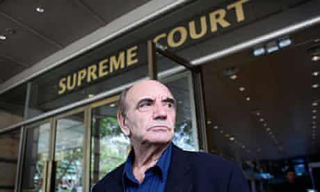 Alan Shadrake leaves the Singapore supreme court