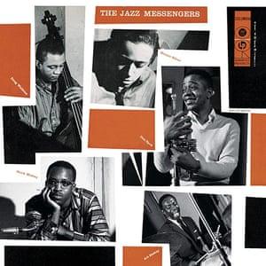Neil Fujita: The Jazz Messengers, 1956. Album cover designed by Neil Fujita