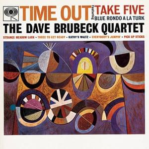 Neil Fujita: The Dave Brubeck Quartet, Time Out, 1959. Album cover design by Neil Fujita