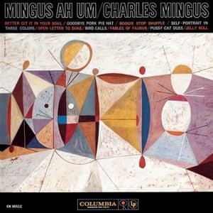 Neil Fujita: Charles Mingus, Mingus Ah-Um, Album cover designed by Neil Fujita