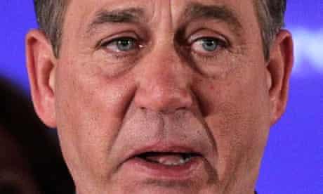 John Boehner tears
