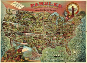 Mapping America: Rambles Through Our Country, an instructive geographical game for the young
