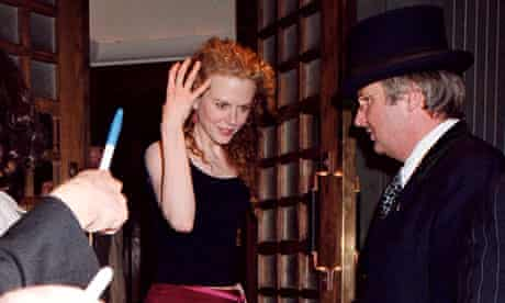Nicole Kidman is snapped leaving The Ivy in 1999.