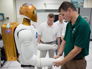 Space Monthly: Robonaut familiarization training session