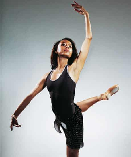 Black ballet: Chantelle Gotobed