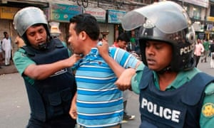 Bangladeshi police arrest activist