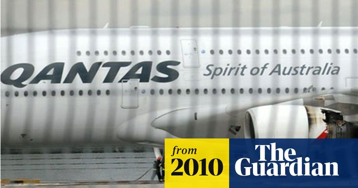 Qantas grounds all A380s after engine failure | World news
