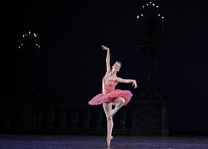 ABT in Cuba: Michele Wiles of the American Ballet Theatre performs in Havana, Cuba
