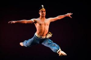 ABT in Cuba: Jose Manuel Carreno of the American Ballet Theatre performs in Havana, Cuba