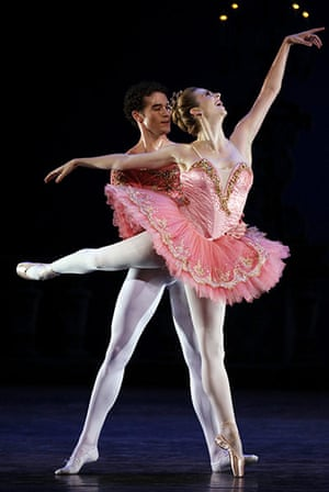 Top US Ballet Troupe Returns To Cuba Stage The Guardian