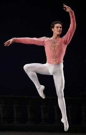 ABT in Cuba: Cory Stearns of the American Ballet theatre performs in Havana, Cuba