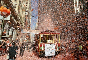 24 hours in pictures: San Francisco Giants Victory Parade