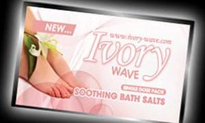 Ivory Wave, sold as bath salts