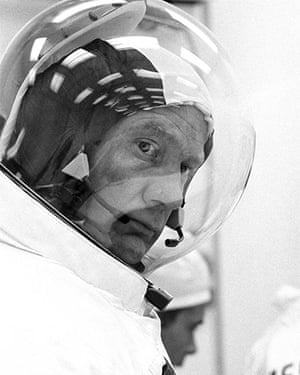 Hard scientists: Astronaut Buzz Aldrin