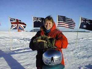Hard scientists: Dr. Jerri Nielsen