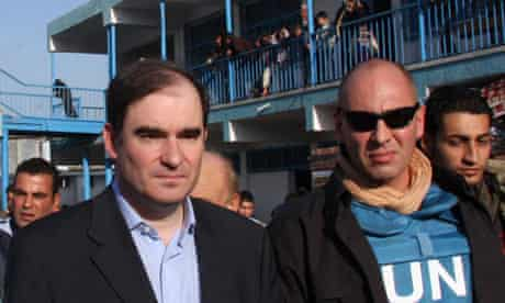 John Ging, head of the UN agency in Gaza