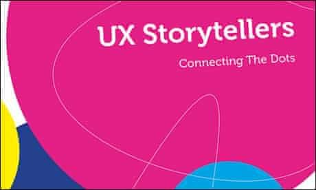UX Storytellers book cover (detail)