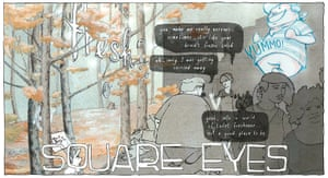 Graphic Short Story Prize: Square Eyes by Anna Mill
