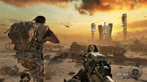 Call of Duty: Black Ops: A tense attack on a Russian missile base