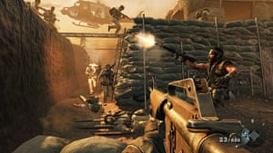 Call of Duty: Black Ops: As you'd expect, the Vietnam battles are bloody and epic