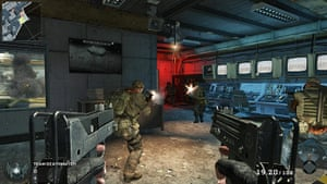 Call of Duty: Black Ops: On 'Launch', players do battle in the shadow of a massive rocket