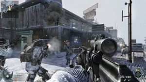 Call of Duty: Black Ops: The frozen 'Summit' map offers an interesting segregated battle space