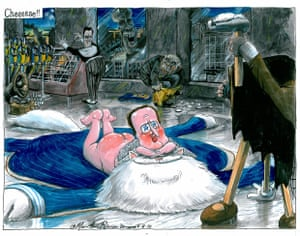 Martin Rowson on David Cameron's appointment of a personal photographer