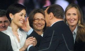 Mara Carfagna and Silvio Berlusconi