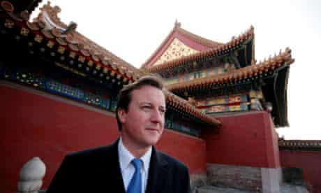 David Cameron in China (2007)