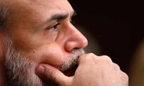 US Federal Reserve Board Chairman Ben Bernanke