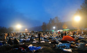 Anti-nuclear protests: Anti-nuclear protestors sleep as they are held by police