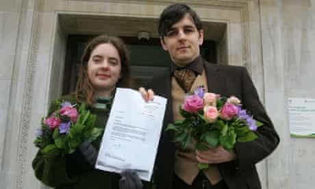 heterosexual couple civil partnership