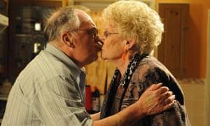 Jack Duckworth reunited with Vera