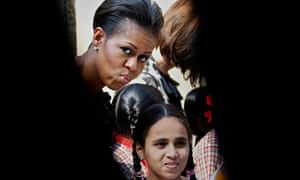 Michelle Obama spent two hours at a handicrafts museum