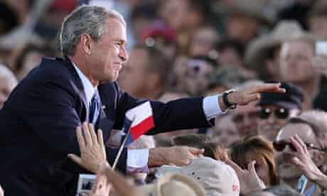 George Bush in Midland, Texas in 2009