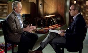 George Bush told NBC's Matt Lauer that critics of waterboarding should read his memoirs