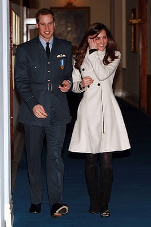 Kate Middleton & William: Prince Williams Graduation Ceremony at RAF Cranwell