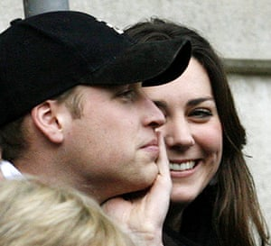 Kate Middleton & William: Prince William and his girlfriend Kate Middleton