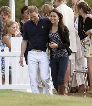 Kate Middleton & William: William leaves with Kate after enjoying a drink together after the polo