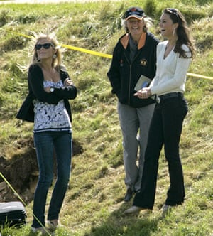 Kate Middleton & William: Chelsy Davy, Claire Tomlinson and Kate Middleton at a Charity Polo Match