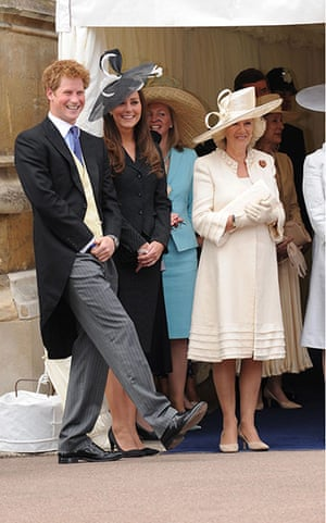 Kate Middleton & William: Prince Harry, Kate Middleton and Camilla Duchess of Cornwall