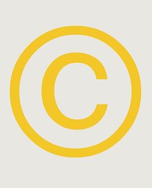 Alphabets book: C, the copyright symbol