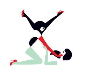 Alphabets book: X from Pin Ups, using illustrations of women posing