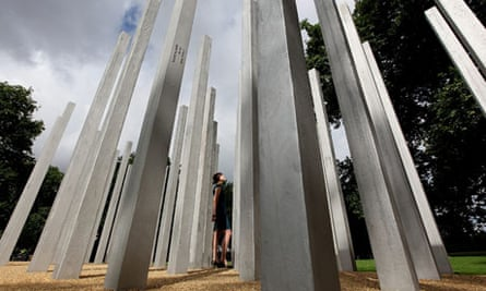 A Memorial To The Victims Of The 7/7 Bombings