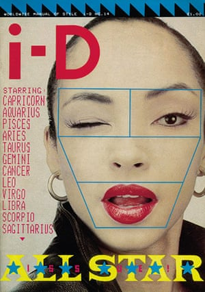 i-D: The All Star Issue, April 1983, with Sade